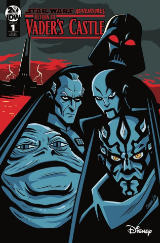 Star Wars Adventures: Return to Vader's Castle #1 (100 Copy Cover)
