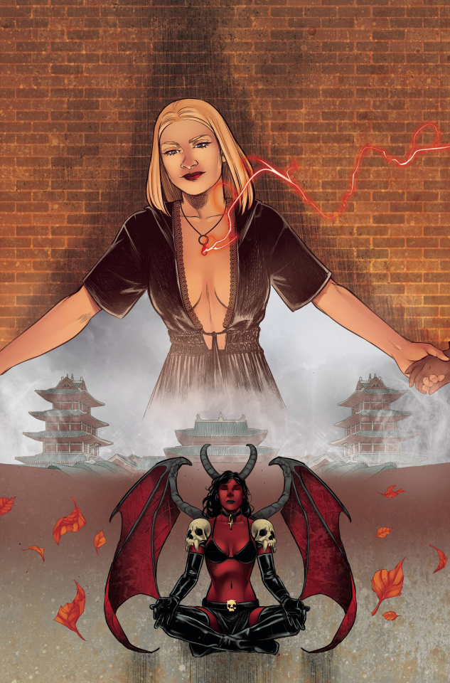 Purgatori #1 (11 Copy Sarraseca Virgin Cover)