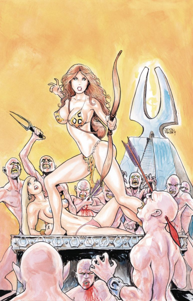 Cavewoman: Quiver #1 (Massey Cover)