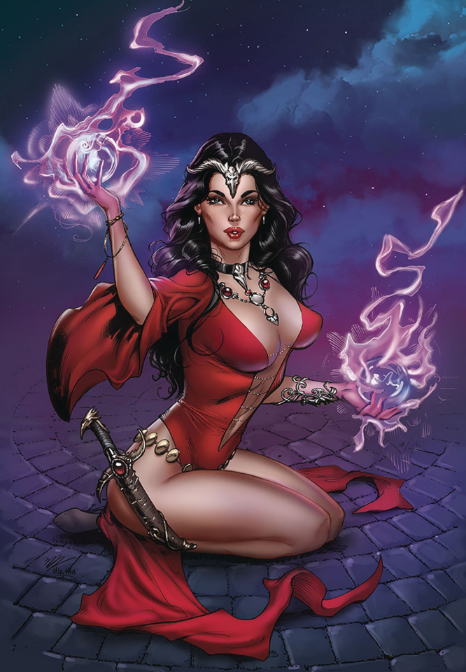 Grimm Fairy Tales 2019 Annual #1 (Dooney Cover)