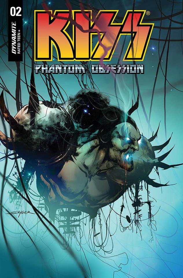 KISS: Phantom Obsession #2 (Sayger Cover)