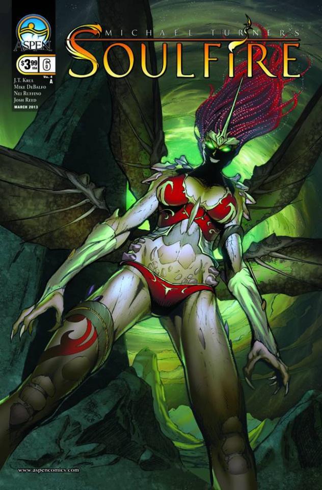 Soulfire #6 (Debalfo Cover)