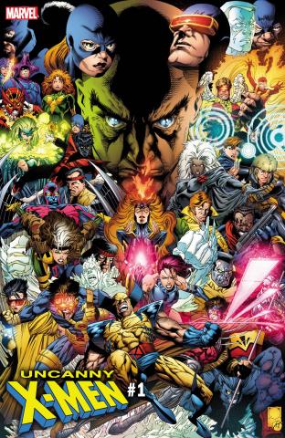 Uncanny X-Men #1 (Quesada Hidden Gem Cover)
