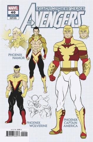 Avengers #40 (Garron Design Cover)
