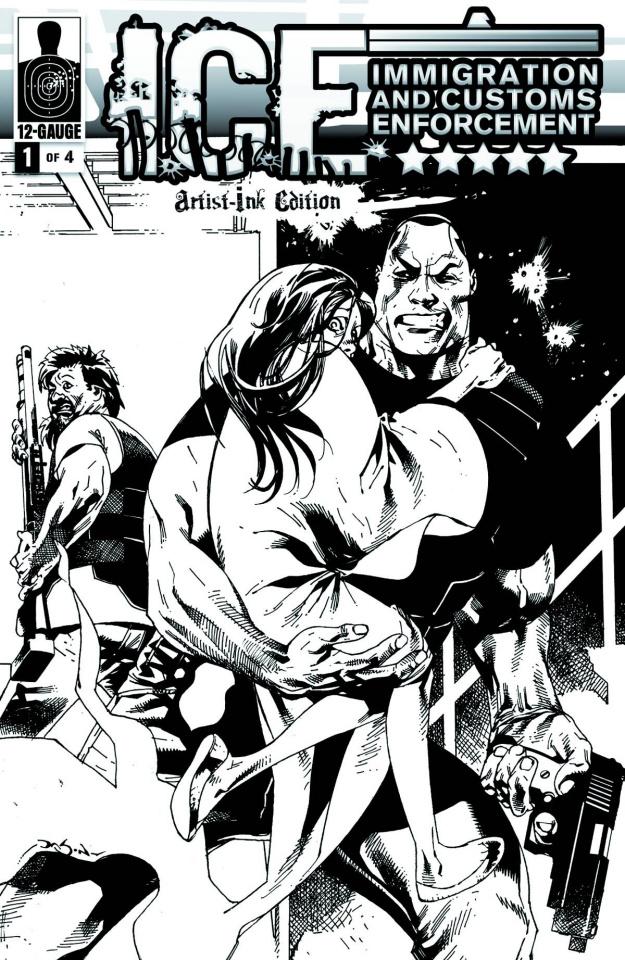 I.C.E.: Critical Mass #1 (20 Copy Cover)