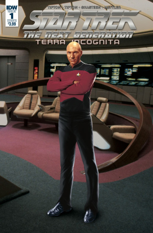 Star Trek: The Next Generation - Terra Incognita #1 (Photo Cover)