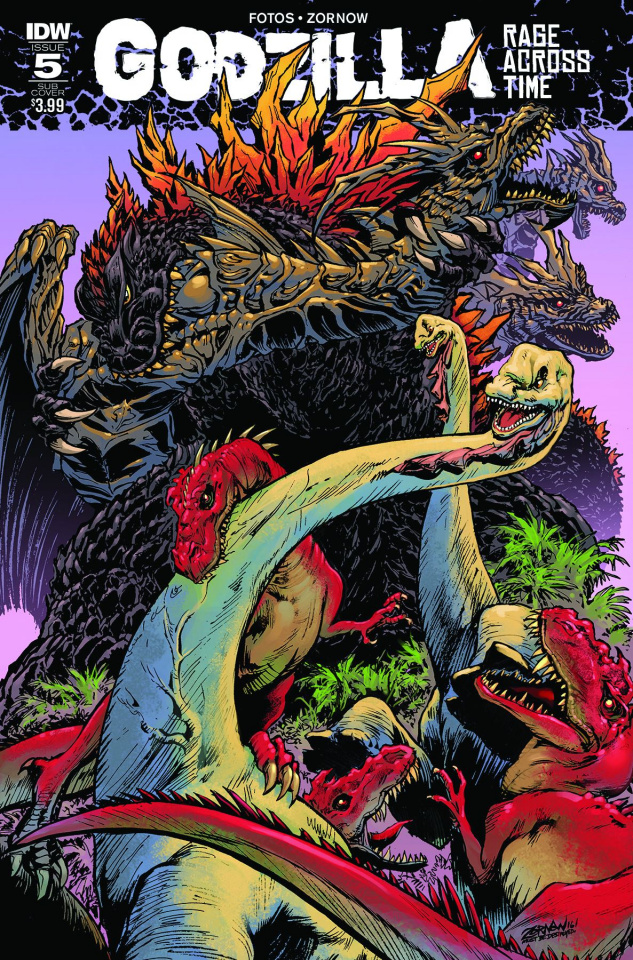 Godzilla: Rage Across Time #5 (Subscription Cover)