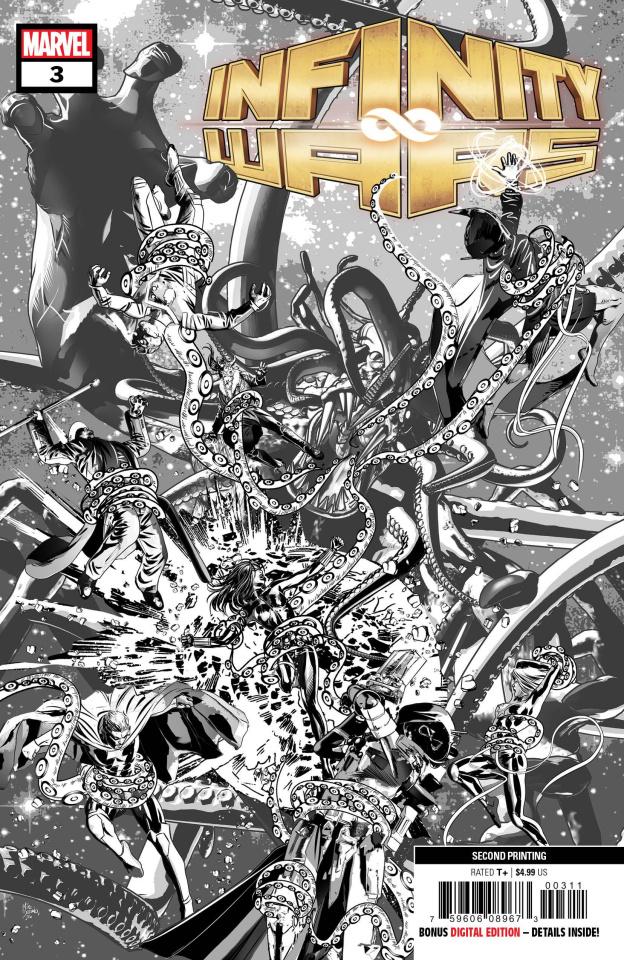 Infinity Wars #3 (Deodato 2nd Printing)