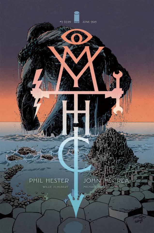 Mythic #2 (Shalvey Cover)