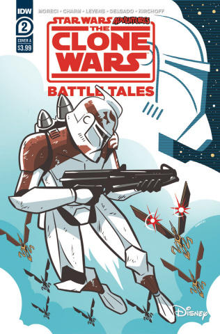 Star Wars Adventures: The Clone Wars #2 (Charm Cover)