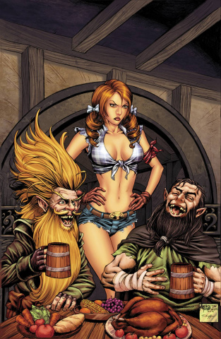 Grimm Fairy Tales: Oz - Reign of the Witch Queen #3 (Reyes Cover)