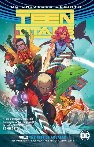 Teen Titans Vol. 2: The Rise of Aqualad - Rebirth