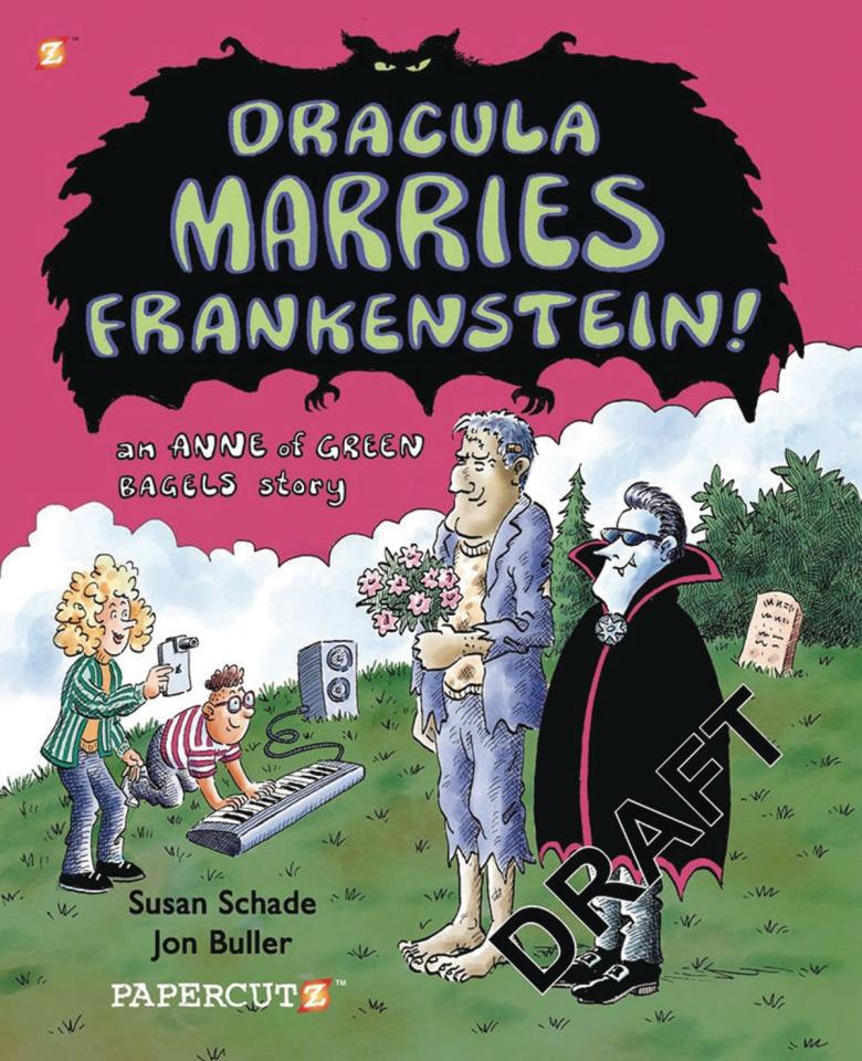 Dracula Marries Frankenstein!