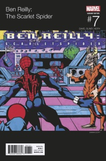 Ben Reilly: The Scarlet Spider #7 (Scott Hip Hop Cover)