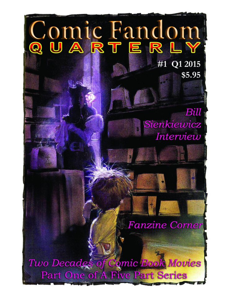 Comic Fandom Quarterly #1
