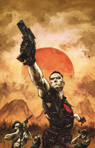 Bloodshot: Reborn #18 (Gorham Cover)