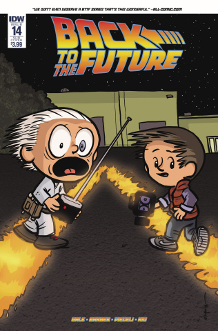 Back to the Future #14 (Subscription Cover)