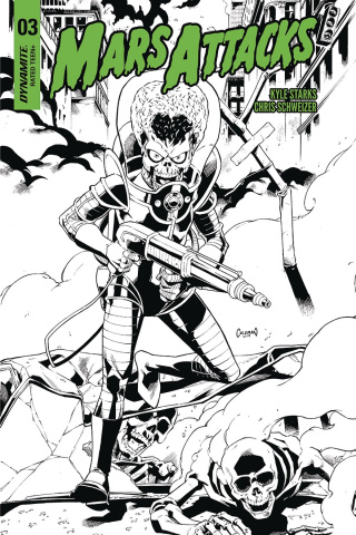 Mars Attacks #3 (20 Copy Coleman B&W Cover)