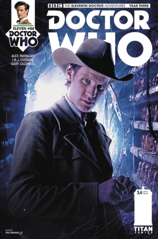 Doctor Who: New Adventures with the Eleventh Doctor, Year Three #4 (Photo Cover)