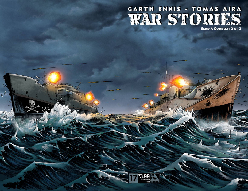 War Stories #17 (Wrap Cover)