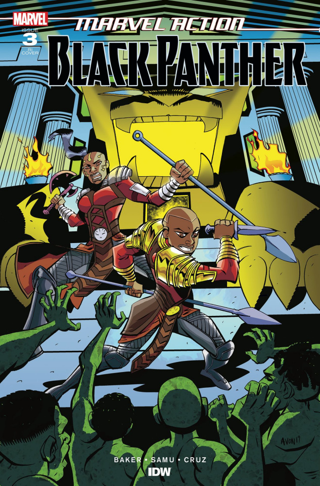 Marvel Action: Black Panther #3 (10 Copy Oeming Cover)
