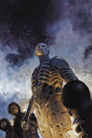 Prometheus: Life and Death #1 (Palumbo Cover)