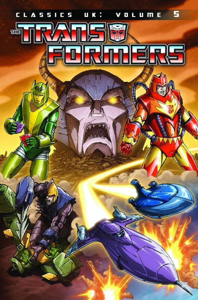 The Transformers: Classics UK Vol. 5