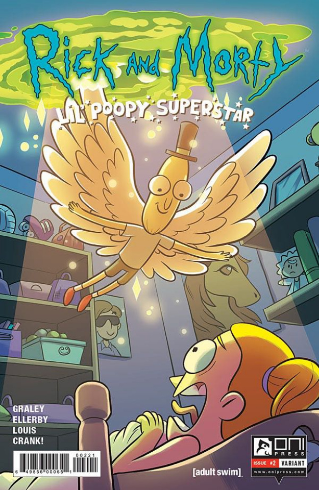 Rick and Morty: Lil' Poopy Superstar #2 (Farina Cover)