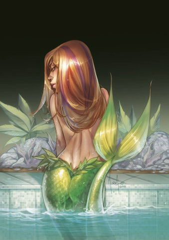 Grimm Fairy Tales: The Little Mermaid #1 (Andolfo Cover)