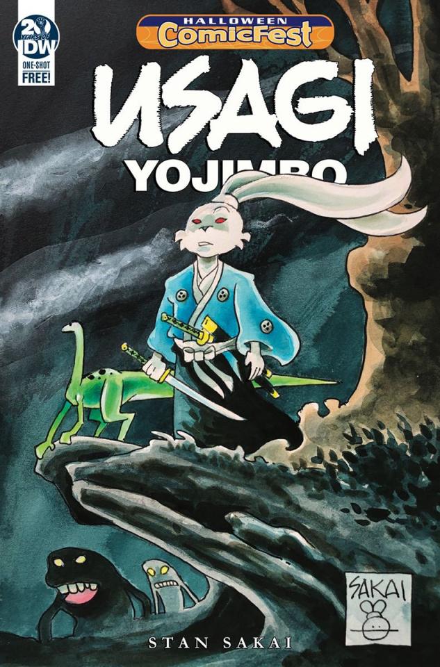Usagi Yojimbo (Halloween Comic Fest)