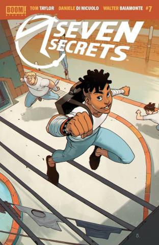 Seven Secrets #7 (Bengal Cover)