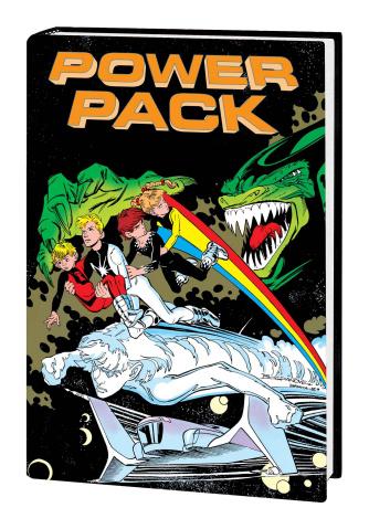 Power Pack Classic Vol. 2 (Omnibus Bogdanove Cover)