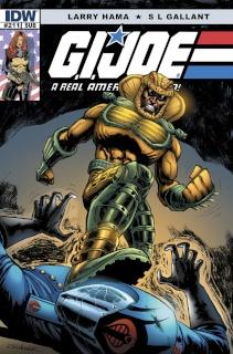 G.I. Joe: A Real American Hero #211 (Subscription Cover)