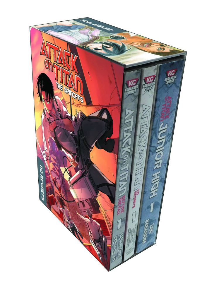 Attack on Titan Spinoff Collection Box Set
