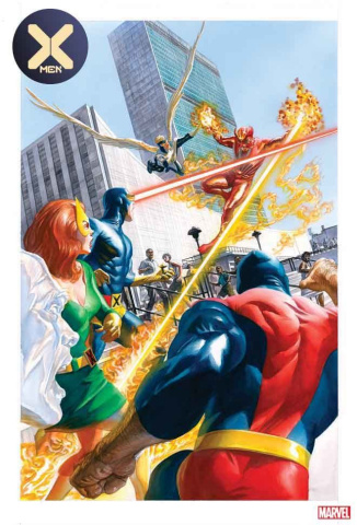 X-Men #3 (Alex Ross Marvels 25th Anniversary Cover)