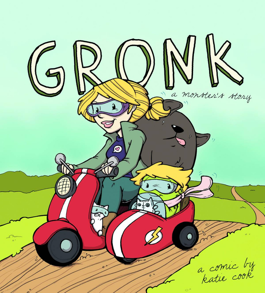 Gronk: A Monster's Story Vol. 1