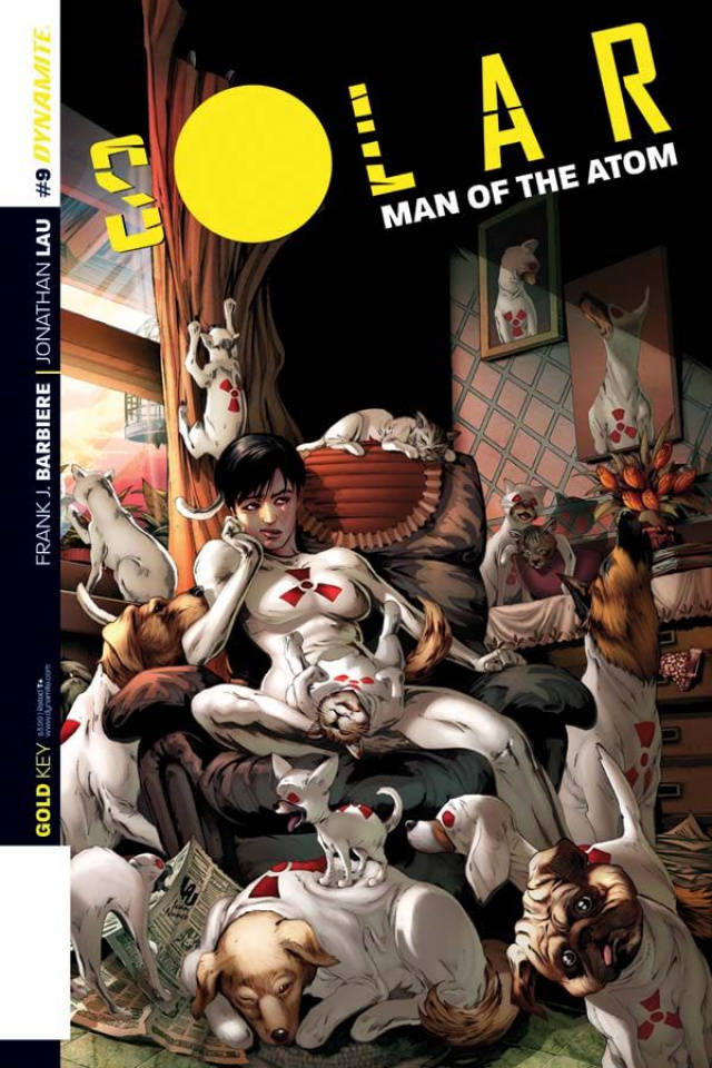 Solar: Man of the Atom #9 (Laming Cover)