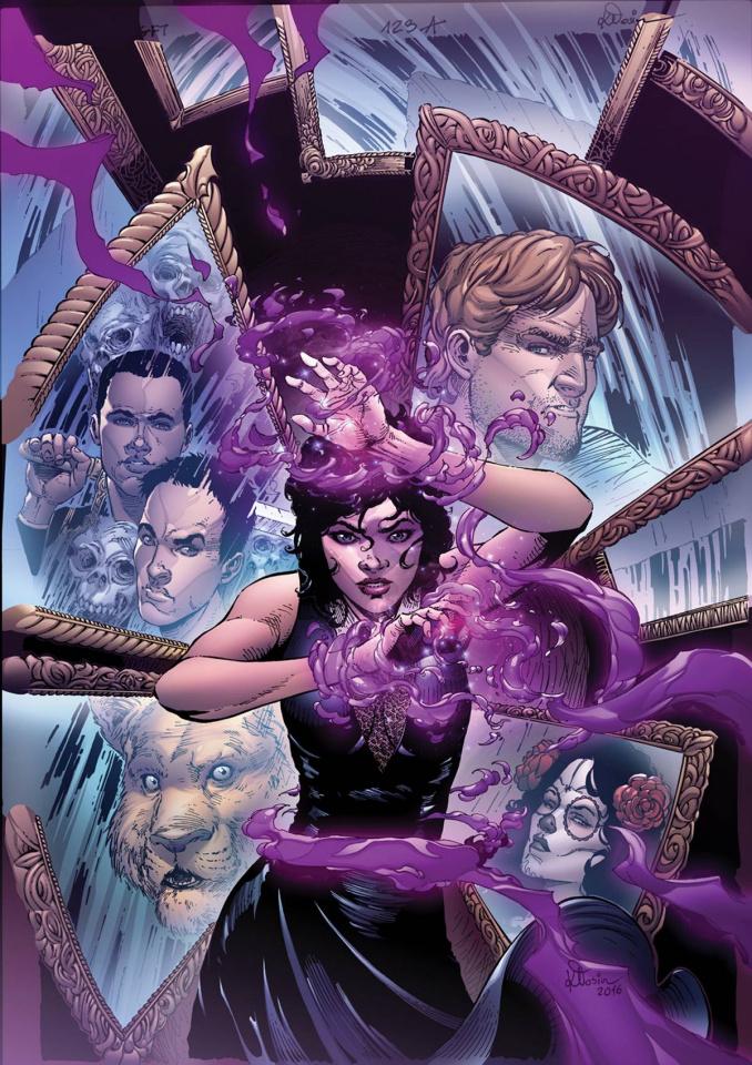 Grimm Fairy Tales #123 (Klosin Cover)