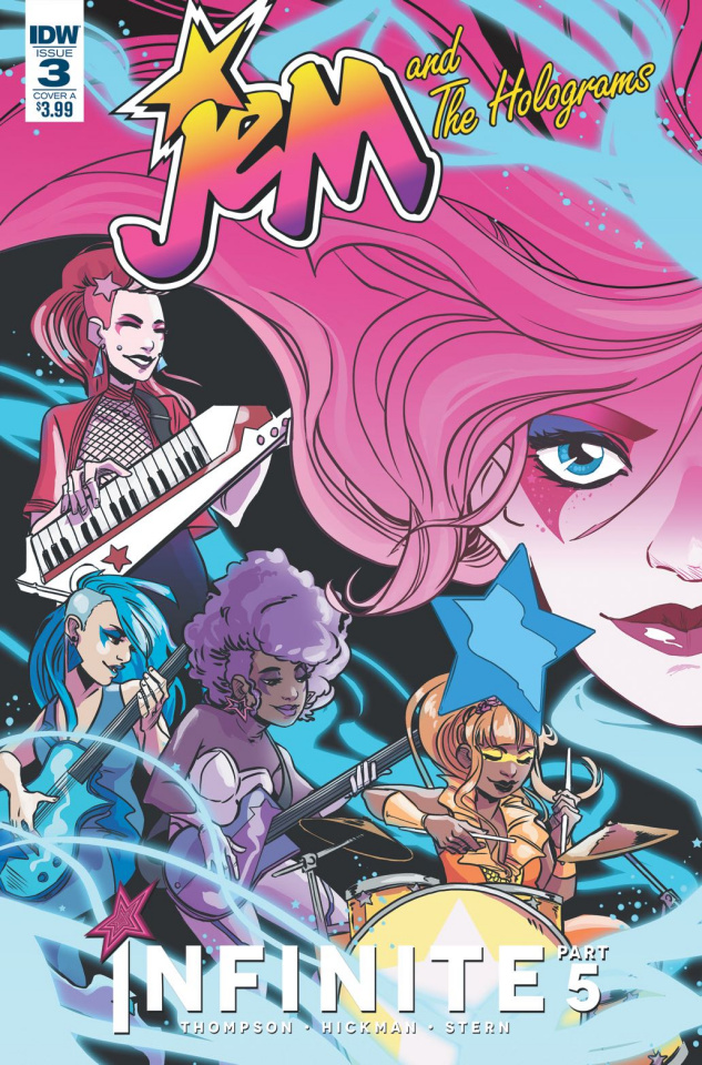 Jem and The Holograms: Infinite #3 (Hickman Cover)