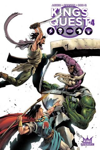 Kings Quest #4 (Lau Cover)
