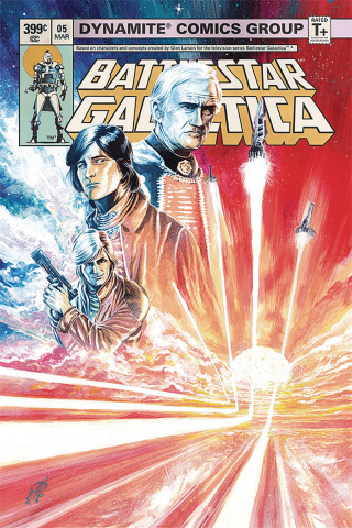 Battlestar Galactica Classic #5 (Rudy Cover)