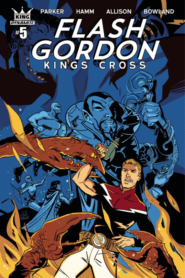 Flash Gordon: Kings Cross #5 (Parker Cover)