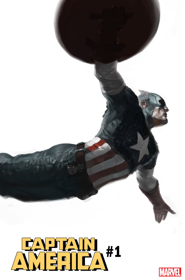Captain America #1 (Djurdjevic Cover)