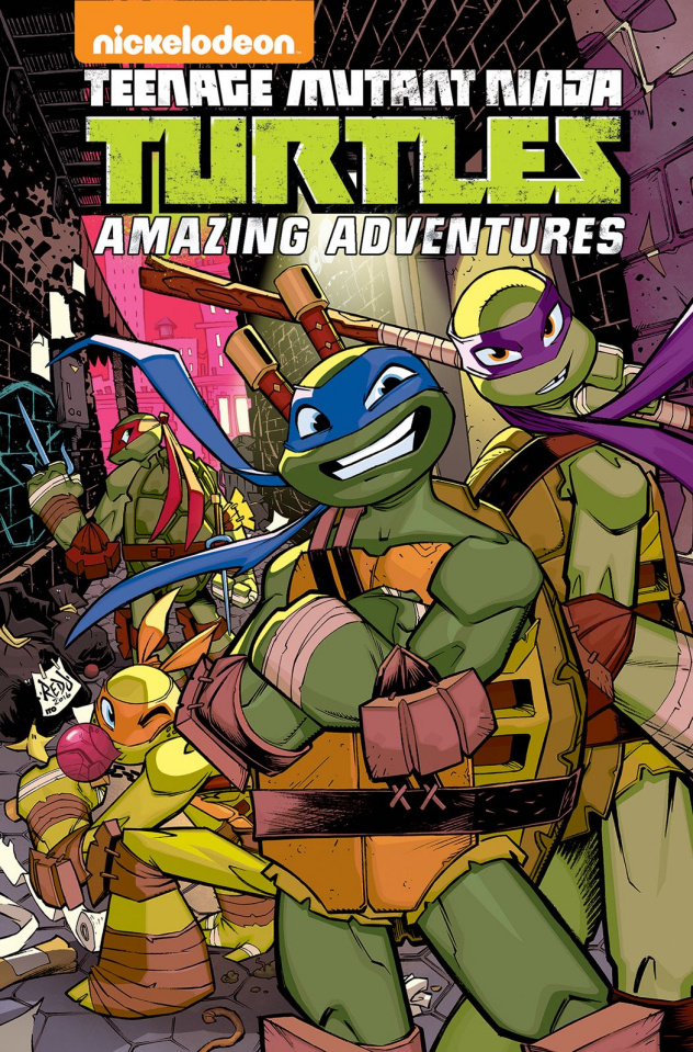 Teenage Mutant Ninja Turtles: Amazing Adventures Vol. 4