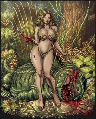 Cavewoman: Roam (Cover F)
