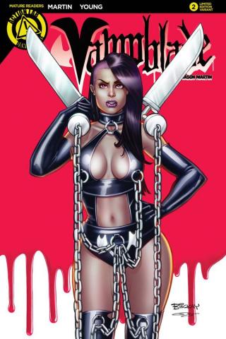 Vampblade #2 (McKay Cover)