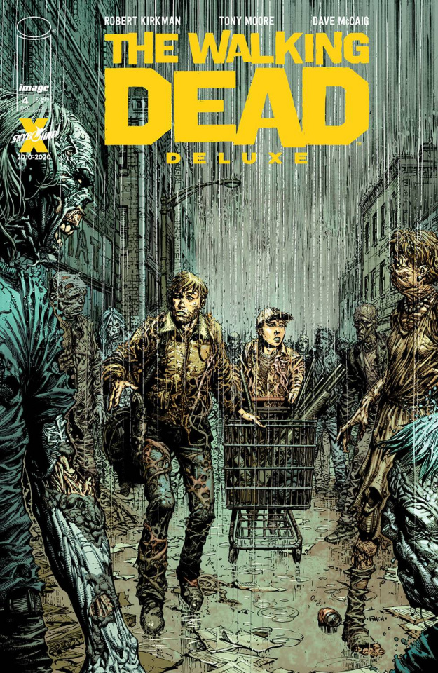 The Walking Dead Deluxe #4 (Finch & McCaig Cover)