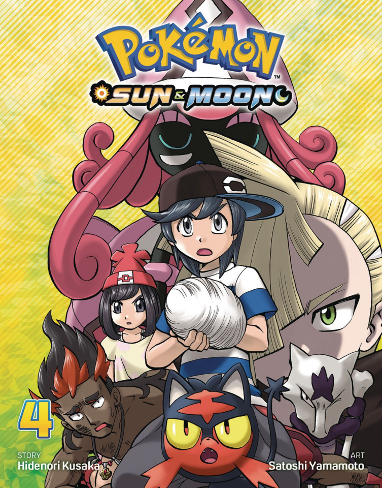 Pokémon: Sun & Moon Vol. 4