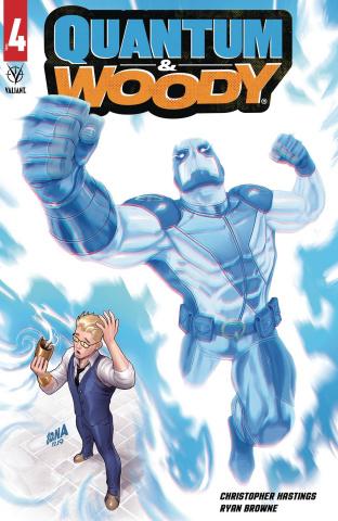 Quantum & Woody #4 (Nakayama Cover)