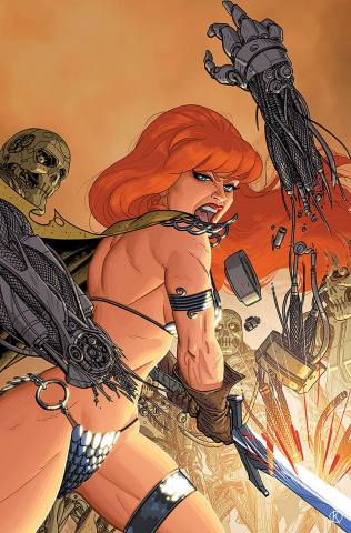 Red Sonja: The Superpowers #2 (25 Copy Kano Virgin Cover)